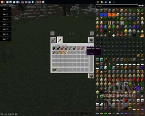 MoSwords [1.6.4] для Minecraft