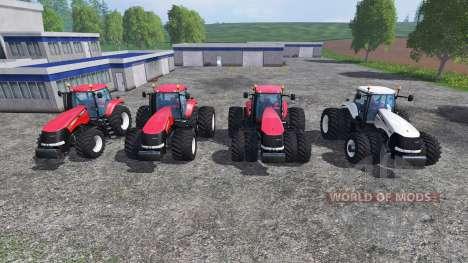 Case IH Magnum CVX 380 v1.3 [pack] для Farming Simulator 2015