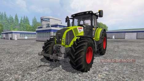 CLAAS Axion 850 v2.0 [washable] для Farming Simulator 2015