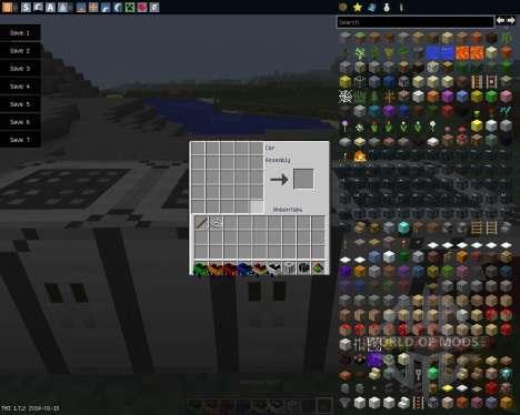Javal Cars [1.7.2] для Minecraft
