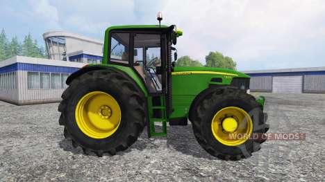 John Deere 7430 Premium full для Farming Simulator 2015
