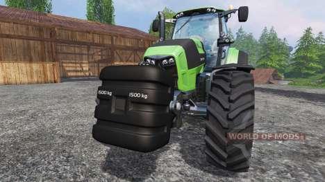 Deutz-Fahr 1500 v2.0 washable для Farming Simulator 2015
