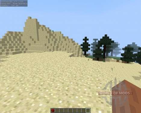 No More F3 для Minecraft