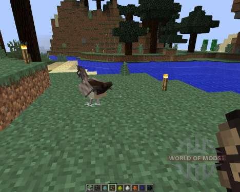 Exotic Birds [1.8] для Minecraft