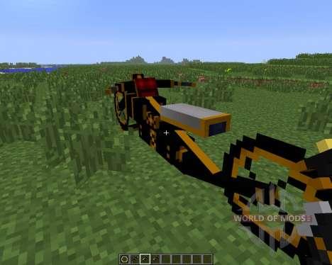 Steam Bikes [1.6.4] для Minecraft