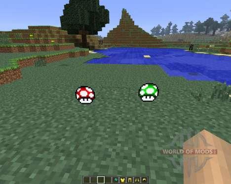 Super Mario [1.6.4] для Minecraft