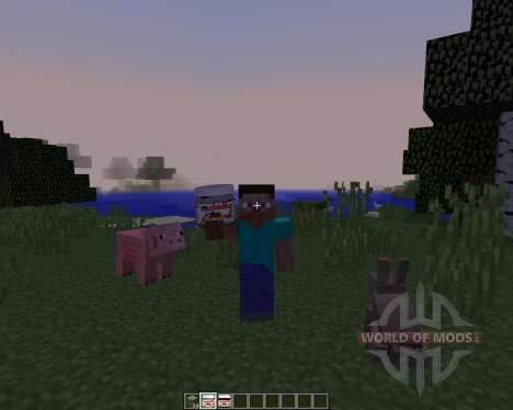 Nutellacraft [1.8] для Minecraft