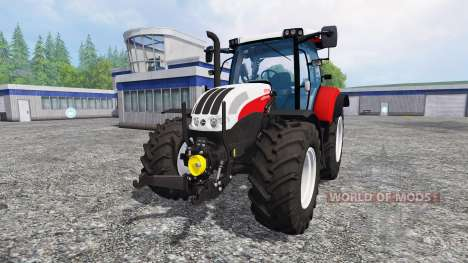 Steyr Profi 4130 CVT для Farming Simulator 2015
