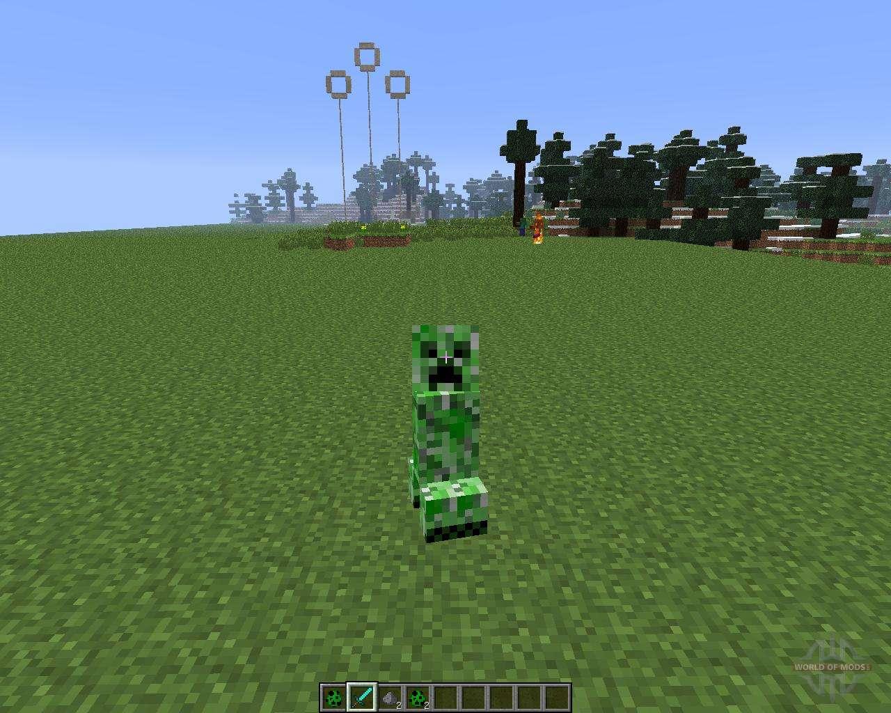 проекты майнкрафт с модом morph mod #3