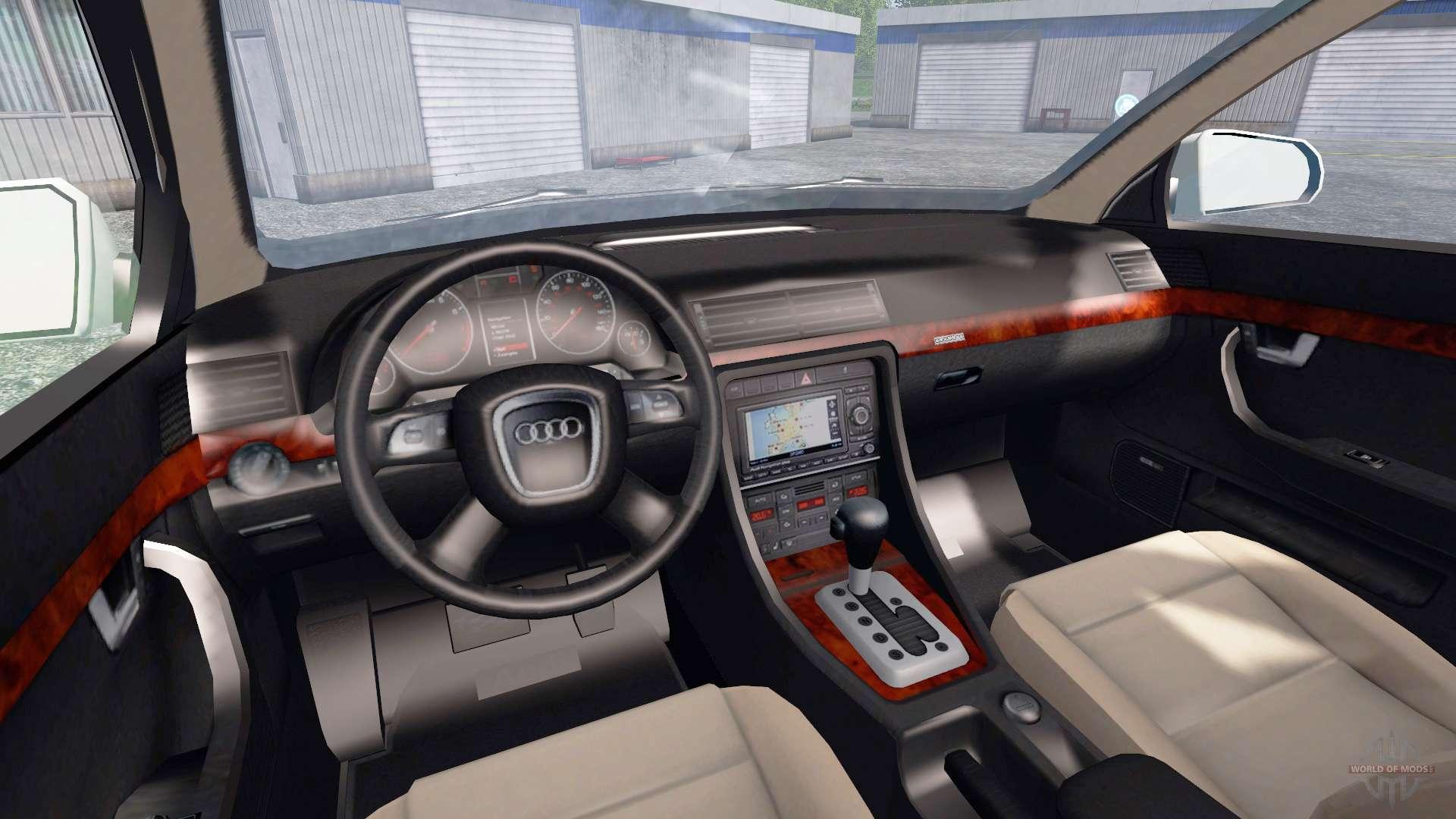 Audi A4 B7 Quattro 30 Tdi для Farming Simulator 2015