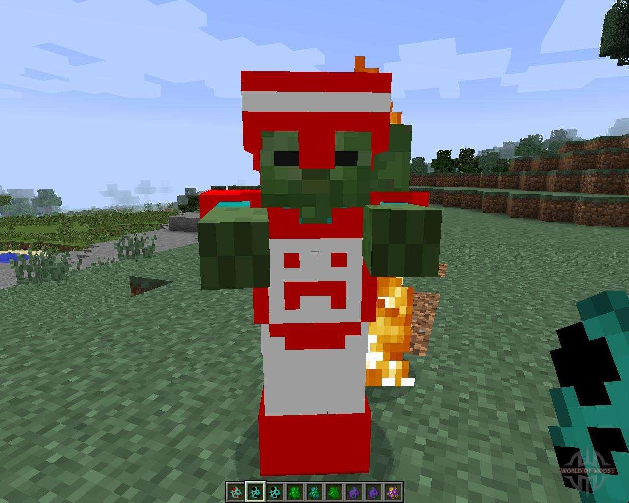 Скачать Plants vs Zombies для Minecraft 1.7.2