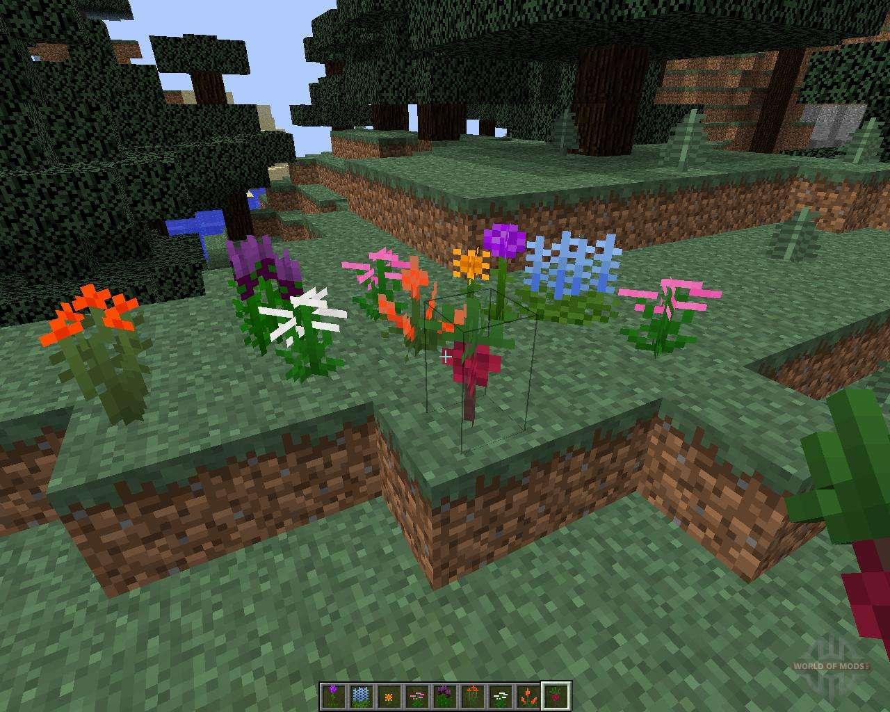 моды для майнкрафт 1.7.10 на растения #6