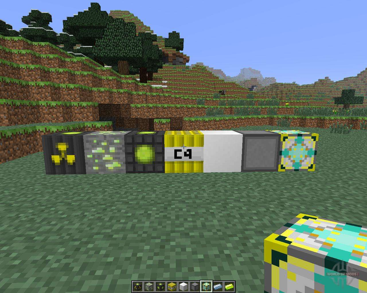 Мод на бомбы Hbm's Nuclear Tech для Майнкрафт 1.7.10/1.8.9
