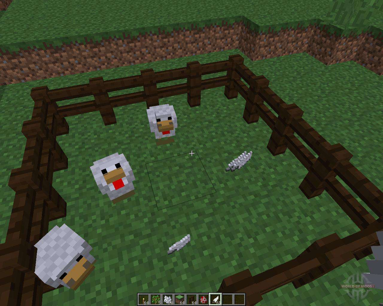 мод на chickenshed для майнкрафт 1.8 #1