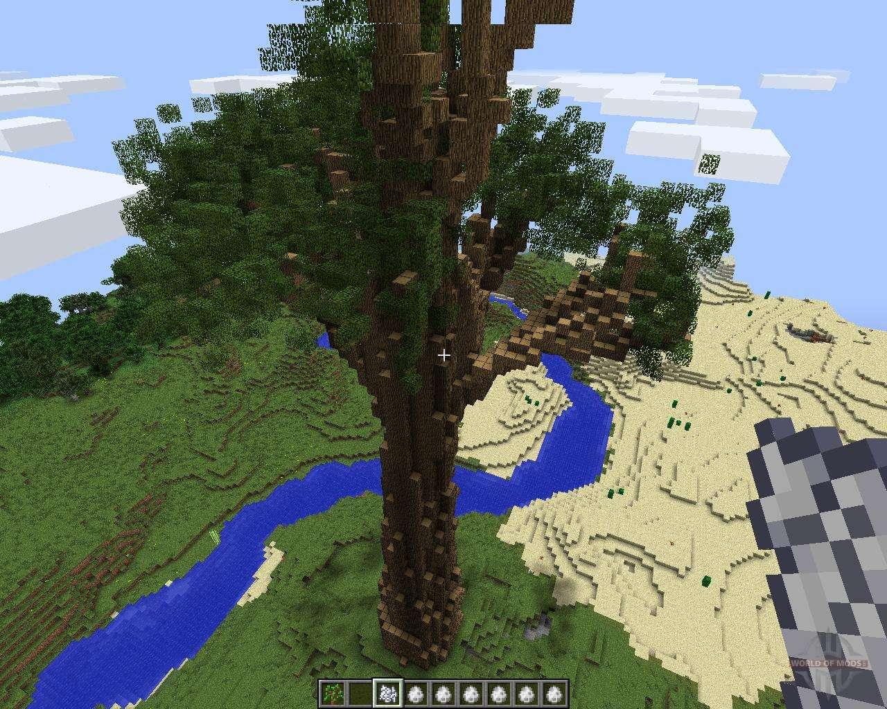 большие деревья мод 1.8.0 майнкрафт #4