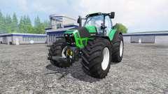 Deutz-Fahr Agrotron 7250 single wheels v1.3