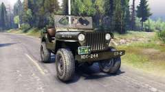 Jeep Willys [13.04.15] для Spin Tires