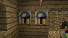 Wall Clock [1.7.2] для Minecraft