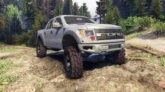 Ford Raptor SVT v1.2 matte gray для Spin Tires