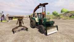 ЮМЗ-6Л грейферный погрузчик для Farming Simulator 2013