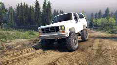 Chevrolet K5 Blazer 1975 v2.5 white для Spin Tires