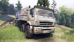 КамАЗ-44108 Мустанг для Spin Tires