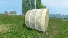 Новые текстуры тюков сена