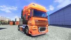 Скин Lowe на тягач DAF XF для Euro Truck Simulator 2
