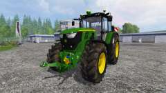 John Deere 6170M для Farming Simulator 2015