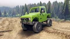 Suzuki Samurai v1.2 open top для Spin Tires
