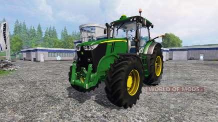 John Deere 7200R для Farming Simulator 2015