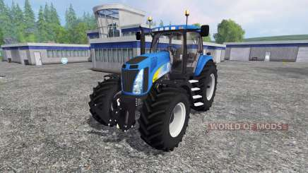 New Holland T8.020 v4.0 для Farming Simulator 2015