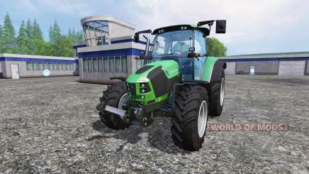 Deutz-Fahr 5110 TTV для Farming Simulator 2015