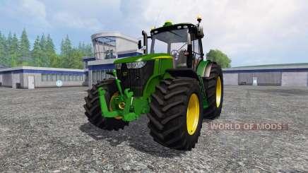 John Deere 7310R v3.0 для Farming Simulator 2015