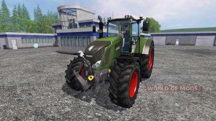 Fendt 828 Vario Ploughing Spec для Farming Simulator 2015