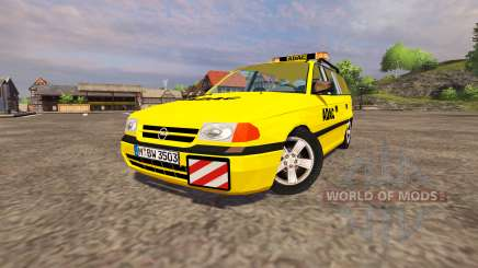 Opel Astra Caravan ADAC для Farming Simulator 2013