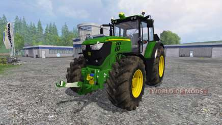 John Deere 6170M FL для Farming Simulator 2015