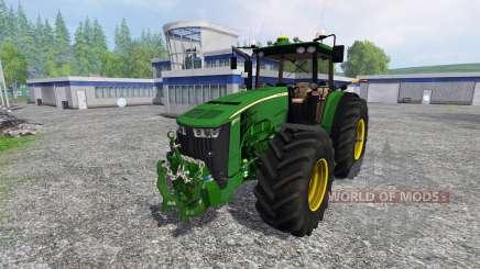 John Deere 8370R Full для Farming Simulator 2015