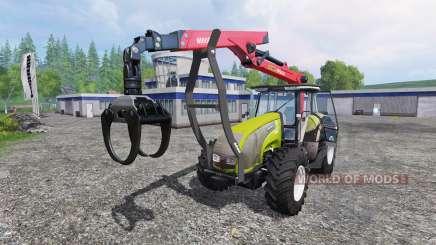 Valtra T140 Forest для Farming Simulator 2015