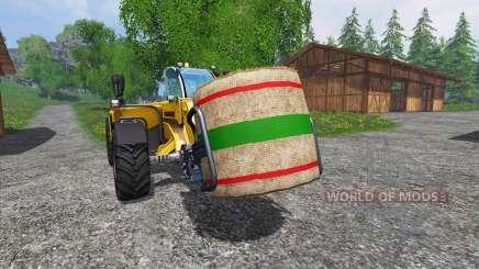 Новые текстуры тюков соломы для Farming Simulator 2015