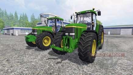 John Deere 7810 [pack] для Farming Simulator 2015