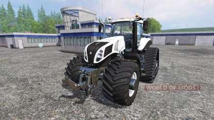 New Holland T8.345 620EVOX v1.4 для Farming Simulator 2015