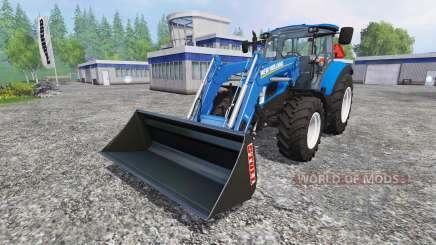 New Holland T5.115 FrontLoader для Farming Simulator 2015