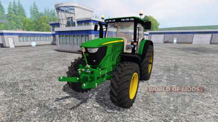 John Deere 6210R для Farming Simulator 2015