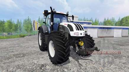 Steyr CVT 6230 grey для Farming Simulator 2015