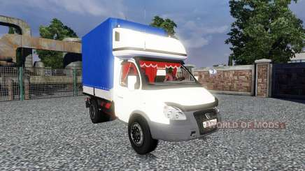ГАЗ-3302 Газель для Euro Truck Simulator 2