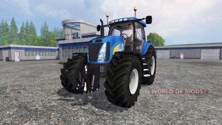 New Holland T8.020 v3.0 для Farming Simulator 2015