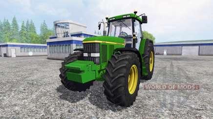 John Deere 7810 FW real turbine sound v1.1 для Farming Simulator 2015