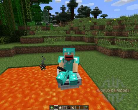 LavaBoat [1.6.2] для Minecraft