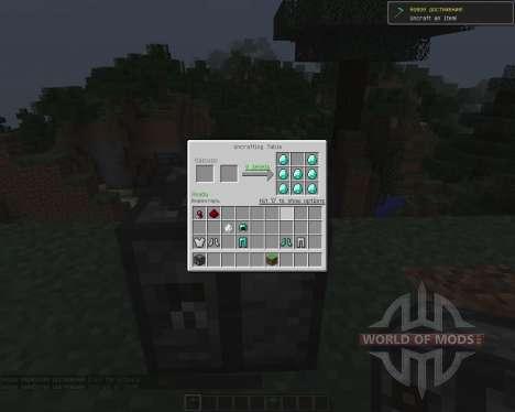 Uncrafting Table [1.7.2] для Minecraft